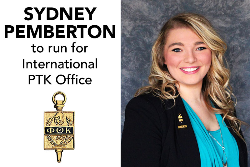 Pemberton to Run for International PTK Office