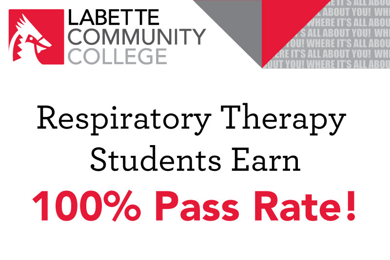 LCC Respiratory Therapy Students Earn 100% Pass Rate