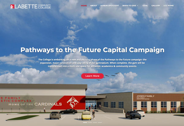 Pathways to the Future Capital Campaign