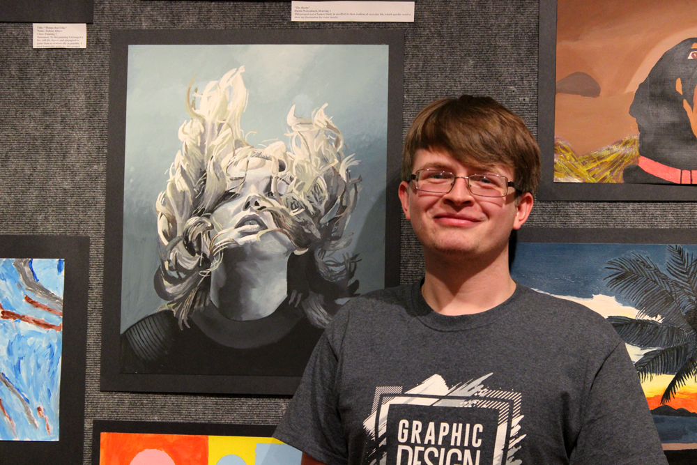 Stafford Receives Latzer Art Award for Fall Semester