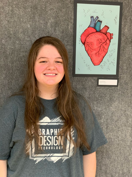 Frazier Receives Latzer Art Award for Spring Semester